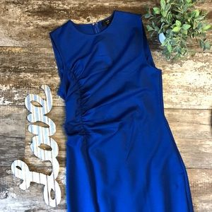 J. Crew Ruched Ponte Sheath Dress